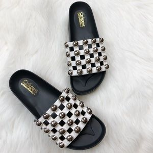 NIB Catherine Malandrino Bubblie Slide Sandals